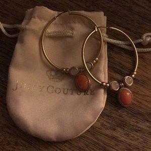 juicy couture - hoop earrings